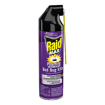 Raid Max Foaming Crack & Crevice Bedbug Killer, 17.5 Oz