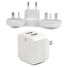StarTechcom Travel USB Wall Charger 2