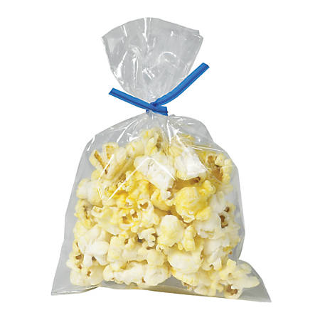 "Office Depot® Brand Flat Polypropylene Bags, 4 3/4"" x 6 3/4"", Clear, Case Of 1,000"