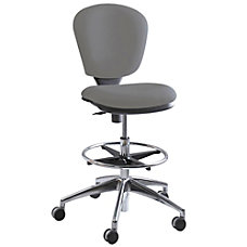 Safco Metro Extended Height Chair ChromeGray
