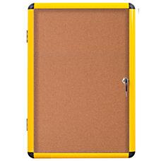 MasterVision Enclosed Cork Board 47 x
