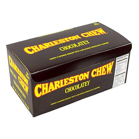 Charleston Chew Chocolatey Candies, Box Of 24
