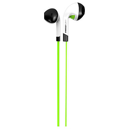 ifrogz InTone EarBuds With Mic Green