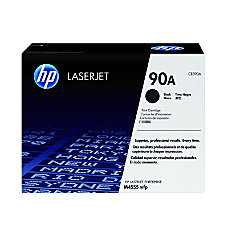 HP 90A Black Original Toner Cartridge