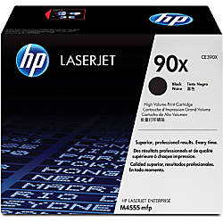 HP 90X High Yield Black Toner