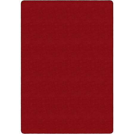 Flagship Carpets Americolors Rug, Rectangle, 4' x 6', Rowdy Red