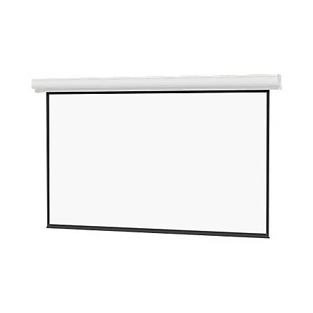 "Da-Lite Contour Electrol 133"" Electric Projection Screen - Yes - 16:9 - High Contrast Matte White - 65"" x 116"" - Ceiling Mount, Wall Mount"
