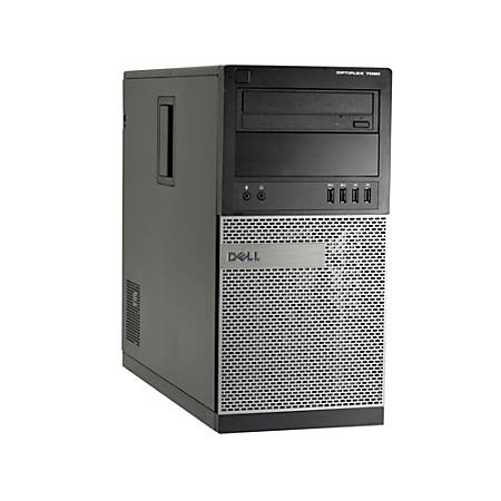 Dell™ Optiplex 7020 Refurbished Desktop PC, Intel® Core™ i5, 8GB Memory, 256GB Solid State Drive, Windows® 10, OD1-0227