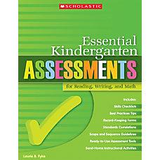 Scholastic Essential Kindergarten Assessments For Reading