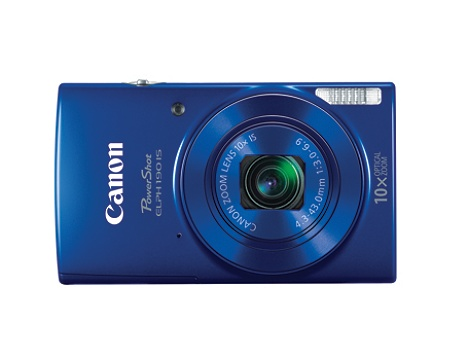 Canon Shot Elph 190 Is 20 Megapixel Digital Camera Blue By Office Depot Officemax