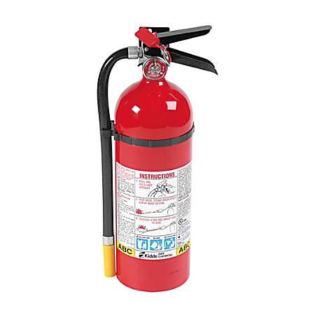 Kidde Pro Line Dry Chemical Fire Extinguisher, 3A-40B:C