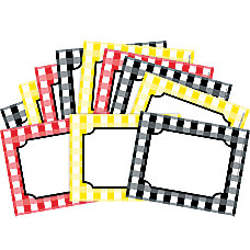 Barker Creek Name BadgesSelf Adhesive Labels
