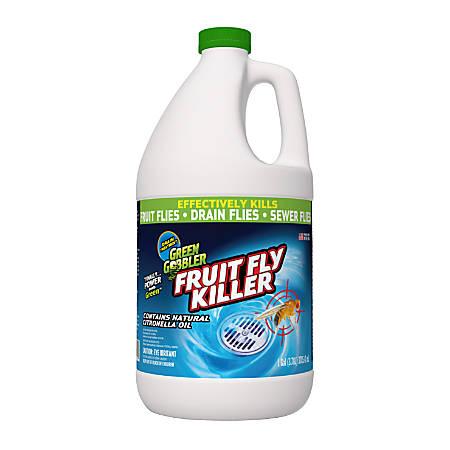 Green Gobbler Fruit Fly Killer, 1 Gal, Pack Of 3 Jugs