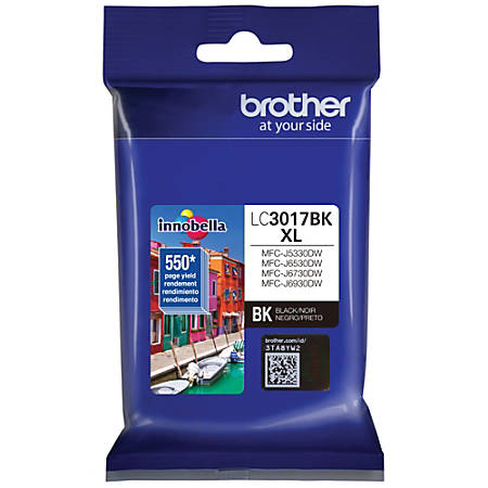Brother Innobella LC3017BK High-Yield Black Ink Cartridge