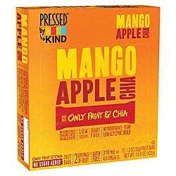 KIND Pressed Mango Apple Chia Fruit