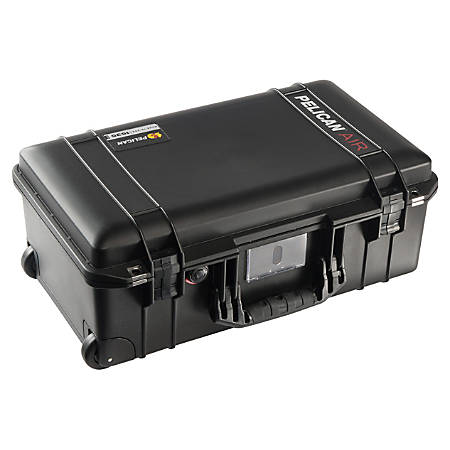 "Pelican™ Air Protector™ Case With Pick N Pluck Foam, 9""H x 22""W x 12""D, Black"