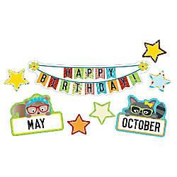 Carson Dellosa Hipster Birthday Mini Bulletin