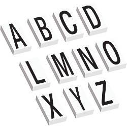 Office Depot Brand Vinyl Warehouse Labels Dl9316 Letters A