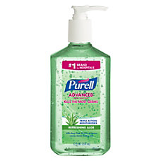 PURELL Advanced Hand Sanitizer Aloe Gel
