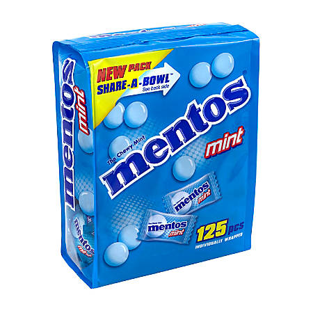 Mentos Chewy Mints Share-A-Bowl Pouch, 1.5 Lb