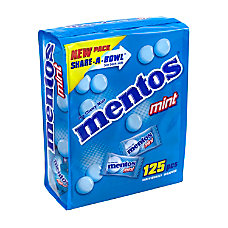 Mentos Chewy Mints Share A Bowl