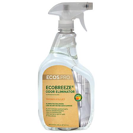 ECOS® PRO Ecobreeze Odor Eliminator, Magnolia & Lily, 32 Oz