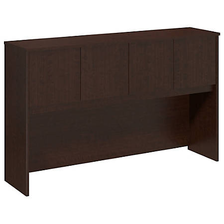 "Bush Business Furniture Components Elite Hutch 60""W, Mocha Cherry, Premium Installation"