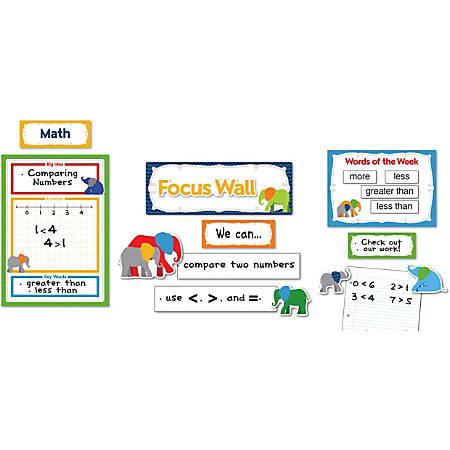 Carson-Dellosa Parade Of Elephants Focus Wall Bulletin Board Set, Multicolor, Grades Pre-K-8
