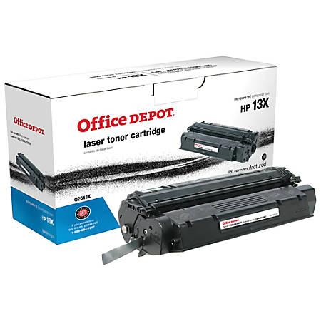 Office Depot® Brand 13X (HP 13X) Remanufactured High-Yield Black Toner Cartridge