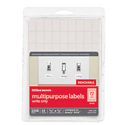 Office Depot Brand Removable Labels 38