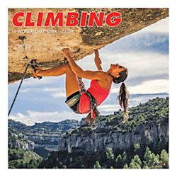 "Willow Creek Press Sports Monthly Wall Calendar, 12"" x 12"", Climbing, January To December 2020"
