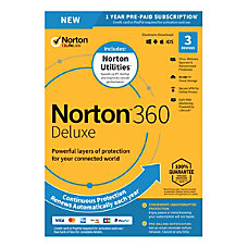 Norton 360 Deluxe With Norton Utilities