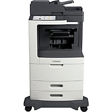 Lexmark MX810dfe Multifunction Monochrome Laser Printer