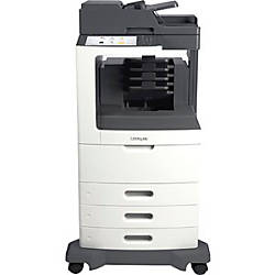 Lexmark MX810dtme Multifunction Monochrome Laser Printer