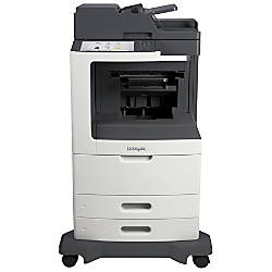 Lexmark MX810DXFE Laser Multifunction Printer Monochrome