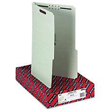 Smead Pressboard Fastener Folders With SafeSHIELD