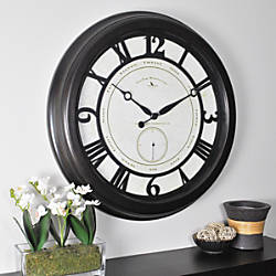 FirsTime Big Gig Round Wall Clock