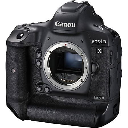 "Canon EOS 1D X Mark II 20.2 Megapixel Digital SLR Camera Body Only - 3.2"" Touchscreen LCD - 5472 x 3648 Image - 1920 x 1080 Video - HD Movie Mode - GPS"