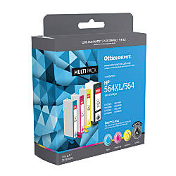 Office Depot Brand OD564XLK564CMY C HP