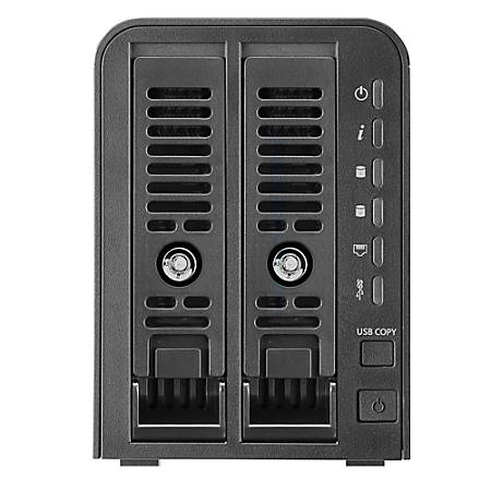 Thecus® N2350 2-Bay NAS, USB 3.0, 4939526