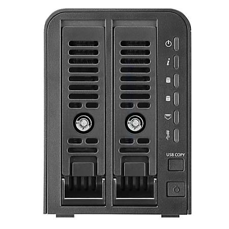 Thecus® N2350 2-Bay NAS, USB 3.0, 4939526