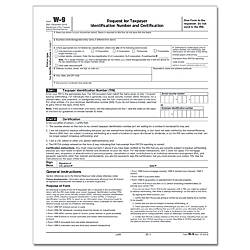 ComplyRight W 9 InkjetLaser Tax Forms