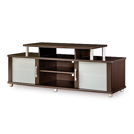 South Shore City Life TV Stand For TVs Up To 50'', Chocolate