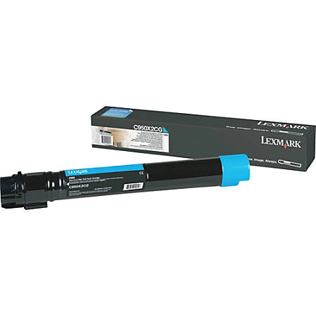 Lexmark™ C950 High-Yield Cyan Toner Cartridge
