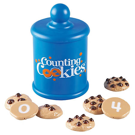 "Learning Resources® Smart Snacks® Counting Cookies™, 1 3/4"" x 1 3/4"", Grades Pre-K - 4, Pack Of 11"