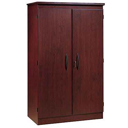 South Shore Morgan Storage Armoire, Royal Cherry