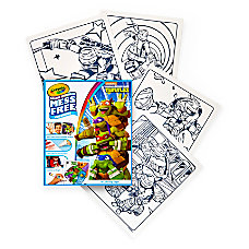 Crayola Color Wonder Coloring Pad Teenage