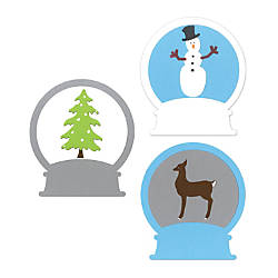 Sizzix Bigz Die Large Snowglobe With