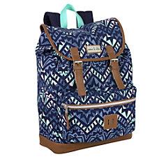Emma Chloe Geo Stripes Drawstring Backpack