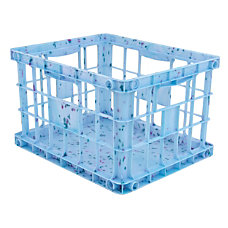 Advantus Paint Splatter Milk Crate File